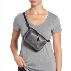 Madewell black belt bag fanny pack